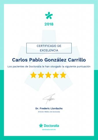 Certificado de Excelencia Doctoralia